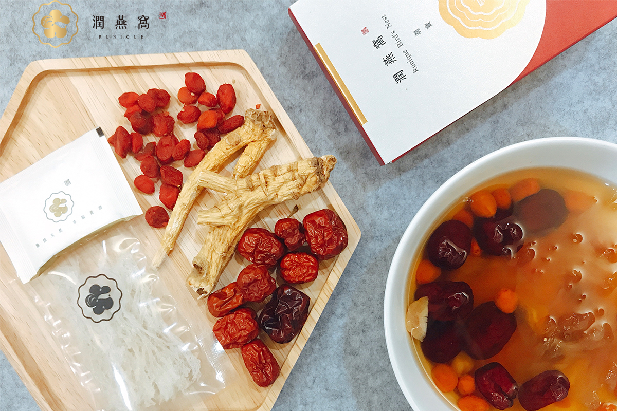 燕窩枸杞紅棗料理